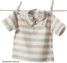 Classic Striped Baby Polo