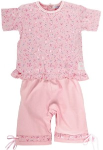 Baby Girl Ruffle Flower Set