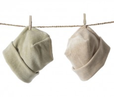 Soft Organic Velour Baby Hat